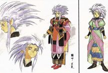 Official Tenchi art / Art Officially sanctioned by AIC, Pioneer/Geneon. VAP