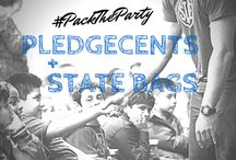 #PackTheParty / This school year, PledgeCents and STATE BAGS are working together to bring a party and 300 backpacks to one lucky school!
