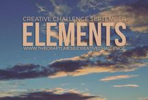 Elements / Are you spending too much time in front of the computer and want to get in touch with your creative side? We would love it if you joined us our 12-month creative challenge!  We will post a challenge each month and you can participate using whichever discipline you choose.  Read more on www.thecraftlab.se/creativechallenge