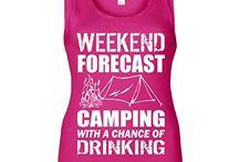 Camping / Funny Camping T Shirts and Tanks