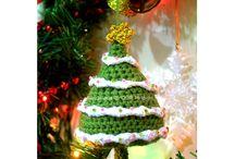 Ganchillo adornos navidad