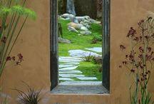 Садовые окна,двери,проёмы.