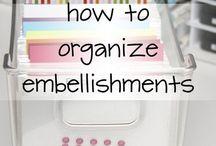 DIY Cards - Organization