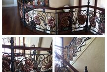 Railings, interior, staircase / Details and highlights on interior railings.