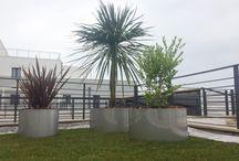 Cerchire Inox -  Stainless Circle / #cerchiereinox #cuadra Semplicità nelle forme e #artigianalità che segue la mano del progettista. Progetto GAAP Studio _ Giorgio Asciutti Architetto Paesaggista