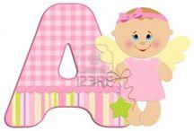 ABC BABY I / Abecedario de Bebes ( desde la A hasta la M)