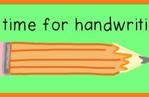 """Teaching - """"Handwriting"""""""