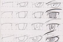 Manga :-) / Wzory oczu, figur, fryzur itp.