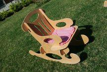 Ahşap Puzzle Mobilyalar / Tamamen doğal malzemeden, el yapımı ahşap çocuk mobilyaları