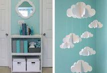 decoración cuarto bebés