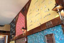 Wall art / Wallpaper, graffiti, paint