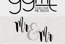 God Give Me Truth - SVG Files