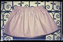 couture robe et jupe enfant