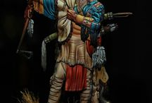 Native Indians Figures