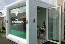 Pralnia samoobsługowa / Mobilna pralnia automatyczna.