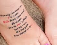 tattoos / by Julie Ochoa