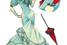 Paper doll / Collect / by Saboresy Detalles