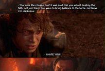 Obi-Wan Kenobi and Anakin