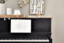 piano decor