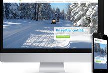 ecoSentier - FCMQ / Pour en voir plus, visitez : http://www.tonikwebstudio.com/fr/portfolio/