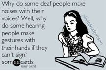 Sign Language Humour