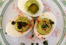 Salads, Sandwiches & Deviled eggs