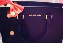 Purse/Wallets/handbags / by Rachael Prosser