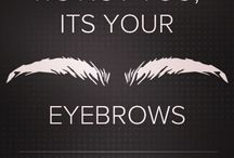 Eyebrow Obsession / All About Brows