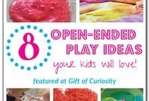 Daycare : Open-ended ideas