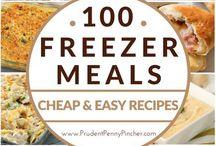 Yummy freezer meals