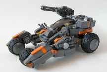 lego custom vehicles