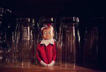 Elf on the shelf / by Liz Potter Shawl