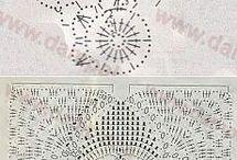 Tapado a crochet de sofa