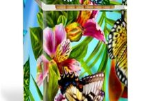 Personalized Cigarette Cases - Nature Theme / Cigarette cases designed at www.smoke-screenz.com and using a nature theme