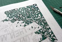 crafts: paper cutting