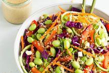 Raw & or Vegan salad Bar / Raw vegan salad options / by Melanie Spickerman-Ancich