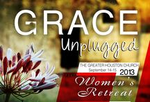 Womens Retreat 2013 / Womens Retreat The Greater Houston Church. KEEP IN MIND THESE ARE FLYERS 1/4 OF A SHEET