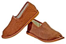 Brown Suede Mules Slippers for Men