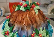 Arial Ice Cream Cake