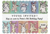 Cute Kids Party Invitations