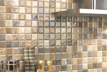 Kitchen Wall Tile Ideas / A beautiful range of kitchen wall tiles from the very versatile metro and brick tiles, to beautiful mosaic effect tiles, Victorian style tiles and the latest in wood effect and extra large tiles.