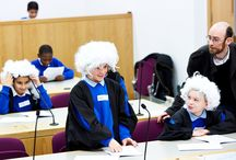 School trips with NCCL in Manchester and Bolton Courts / During our legal education workshops young people learn about the different courts and the different roles that work within the legal system.