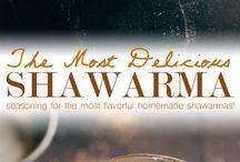 marinades and seasonings
