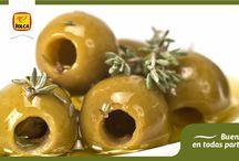 Os apetece unas aceitunas... / Las aceitunas pueden presentarse de múltiples formas y nunca perder su esencia. Aquí encontrarás las aceitunas Jolca más apetecibles, te lo garantizamos.