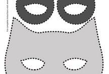masca bufnita