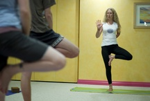 Yoga Classes / With 3 smaller studios we are able to offer around 40 yoga classes per week.  Smaller class sizes mixed with experienced teachers make for a fabulous environment for growth and exploration!