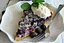 Saskatoon Berry Recipes / Our city, Saskatoon, is named after the saskatoon berry.  It's a bit like a blueberry and famous in western Canada and the United States for it's use in some great baking recipes.