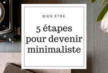▪️ Minimalisme / minimalisme, simplicité, développement personnel, bien être, maison, mental, santé, pure