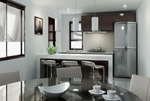 Small Kitchen Ideas / by Stylish Eve