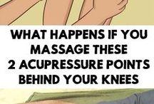 Acupressure behind knee